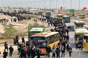 روان شدن تردد زائران در مرزهای عراق