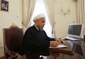 روحانی درگذشت پدر شهیدان عاصمی را تسلیت گفت