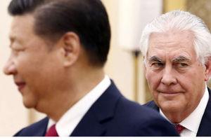 تیلرسون در چین