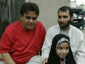 عکس/ چهره های عجیب و دیده نشده از اکبر عبدی