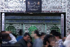 عکس/ شب لیلة الرغائب در حرم حضرت عبدالعظیم(ع)