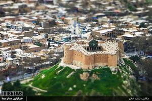 عکس/ قلعه تاریخی فلک الافلاک