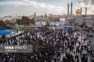 عکس/ عزاداری شهادت امام هادی (ع) در قم