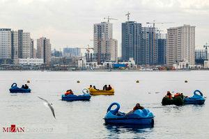 عکس/ روز طبیعت در دریاچه شهدای خلیجفارس