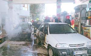تلفن همراه پمپ بنزین راسک را به آتش کشید
