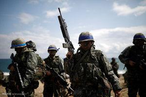 تمرین نظامی مشترک آمریکا با کره جنوبی