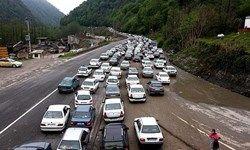 ترافیک سنگین در جاده کرج-چالوس/ محور کندوان بعدازظهر امروز یکطرفه میشود