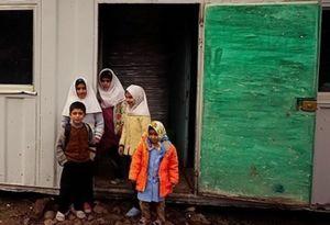 یک مدرسه روستایی در سردشت سوخت