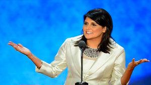 نیکی هیلی: آمریکا تصمیمی درباره مرزهای قدس نگرفته است