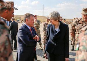 رایزنی ترزا می و پادشاه اردن درباره مبارزه با تروریسم