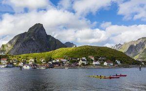 عکس/ جزیره زیبا در نروژ