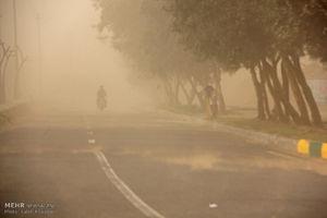 عکس/ طوفان شن در شهرستان فهرج کرمان