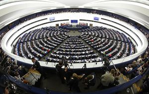 پارلمان اروپا در بیانیهای ضد ایرانی خواستار قرار گرفتن نام سپاه در فهرست سیاه شد