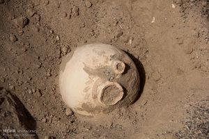 عکس/ طوفان شن، شهر باستانی را از دل زمین بیرون آورد