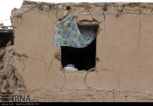 عکس/ خسارات زلزله در منطقه سفید سنگ فریمان