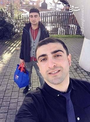 احمد و بردارش قبل از حادثه