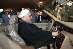 عکس/ رئیس جمهور سوار بر  سمند