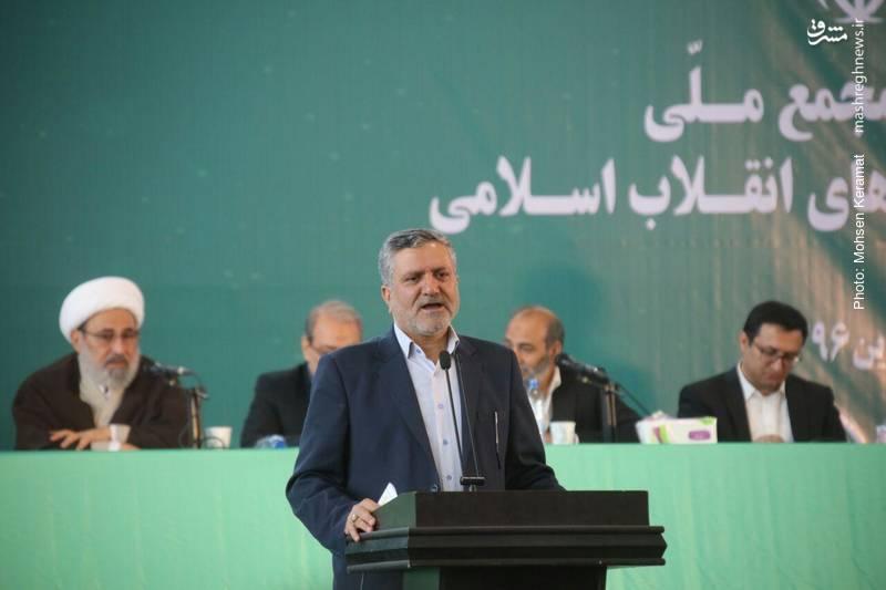 سید صولت مرتضوی نماینده حجت الاسلام رئیسی در دومین مجمع جبهه مردمی