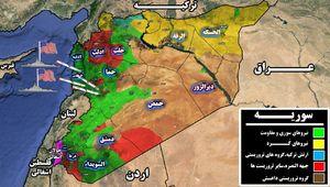 پایگاه هوایی هدف حمله موشکی امریکا کجاست/ جنگندههای سوری قبل از حمله به مناطق امن منتقل شدند/ جنگندههای منهدم شده قابلیت پرواز نداشتند + نقشه