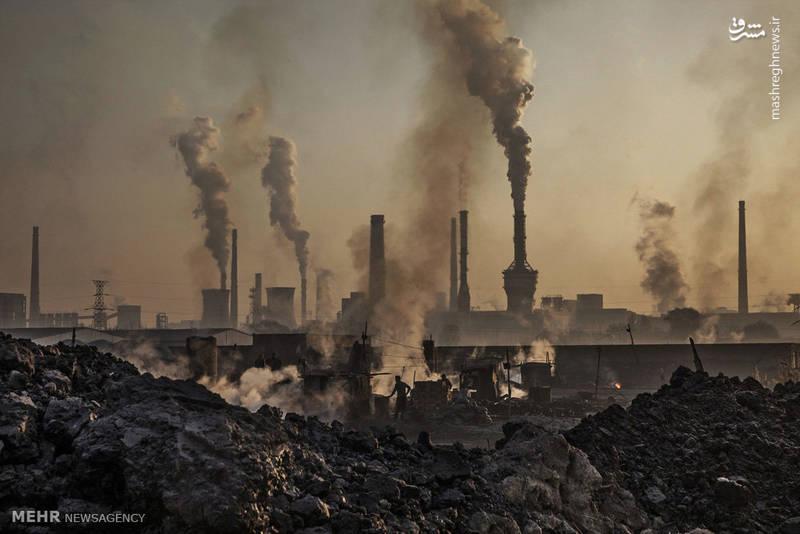 کارخانه های تولید فولاد در چین