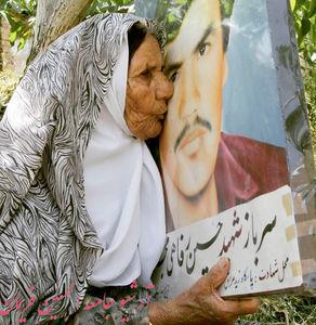 عکس/ مادری که قبل از زلزله دلش لرزید