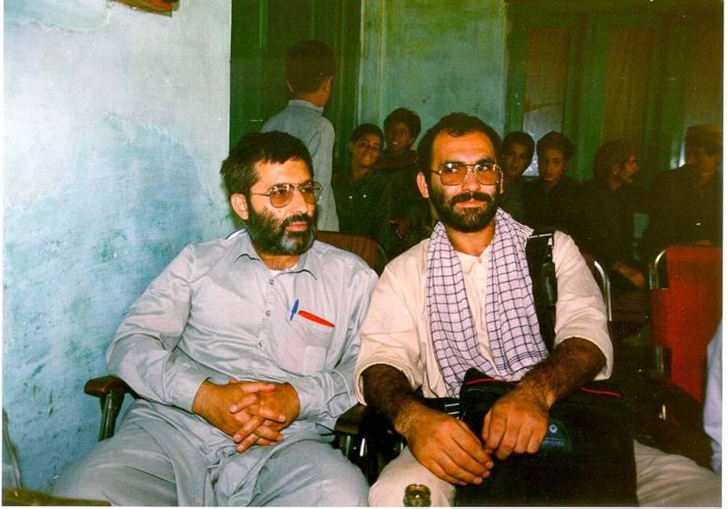 سید مرتضی آوینی و رضا برجی در سفر پاکستان