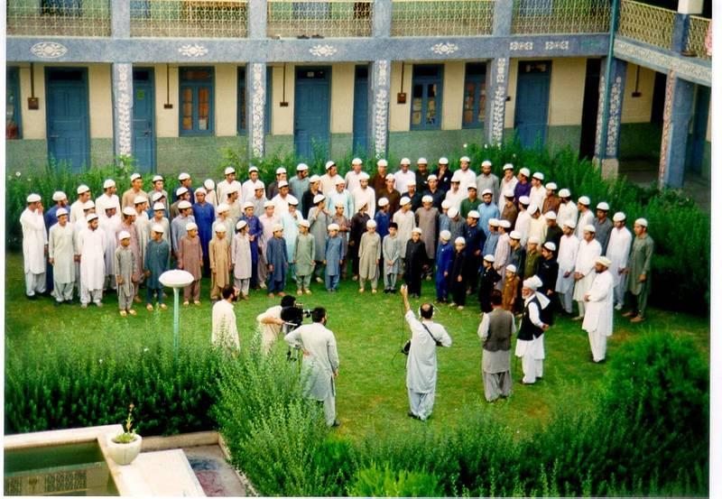 سید مرتضی آوینی در سفر پاکستان