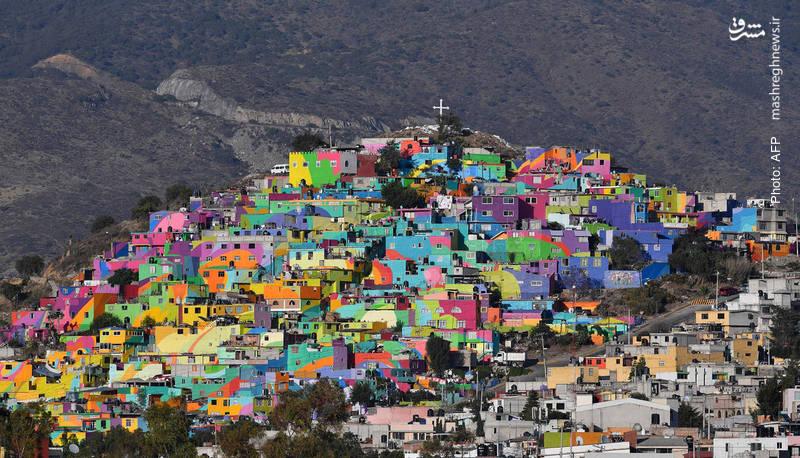 اقدام دائره پیشگیری از جرائم در مکزیک به راهاندازی پروژه رنگیکردن شهرها توسط جوانان