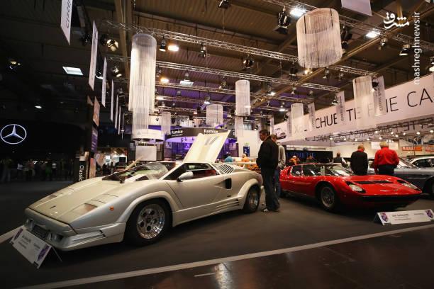 نمایشگاه خودروهای کلاسیک در آلمان