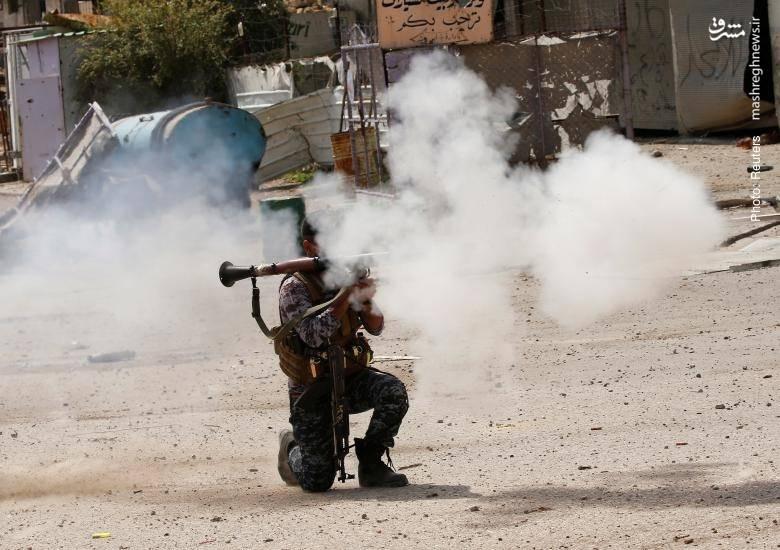 درگیری خیابانی در موصل