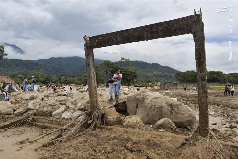 مرگ حدود 300 تن بر اثر رانش زمین در کلمبیا
