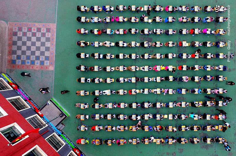 یک روز با شطرنج در شهر شنیانگ چین