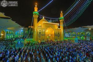 عکس/ جشن میلاد امام جواد(ع)در نجف اشرف