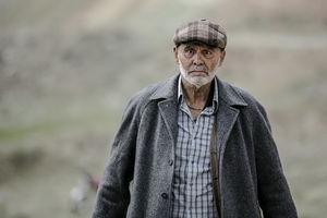 عکس/ گریم جمشید هاشمپور در فیلم جدیدش