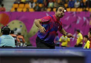 تیم پینگپنگ مردان ایران مقابل عربستان پیروز شد