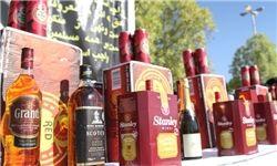 کشف و ضبط یک محموله بزرگ مشروبات الکلی