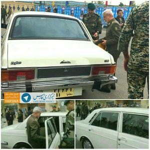 عکس/ خودروی فرمانده کل ارتش در مراسم سالگرد شهادت صیاد شیرازی