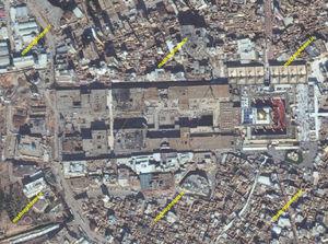 جدیدترین تصاویر ماهوارهای از توسعه حرم امیرالمؤمنین (ع)