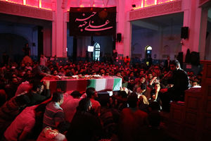 عکس/ مراسم وفات حضرت زینب (س) در دانشگاه شریف