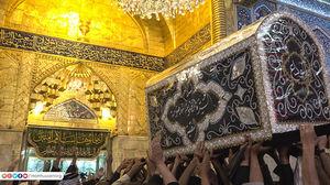 عکس/ عزاداری وفات حضرت زینب(س) در کربلا