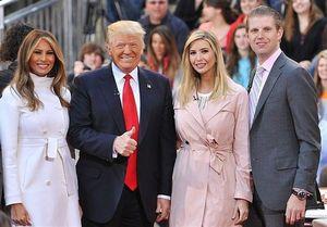 حزب جمهوریخواه آمریکا یا محفل خانوادگی ترامپها؟ +عکس