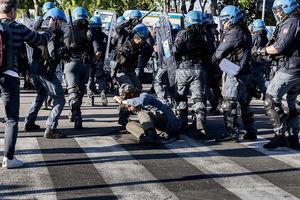 تظاهرات در ایتالیا ضد گروه هفت