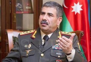 وزیر دفاع جمهوری آذربایجان