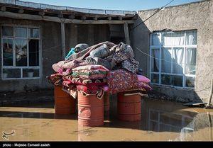 عکس/ خسارات ناشی از سیل به روستاهای ارومیه