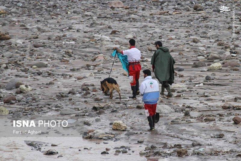 روستای «چنار» شهرستان «عجب شیر» دو روز پس از سیلاب
