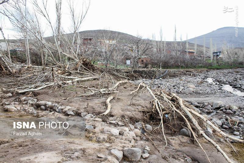 عکس سیل اخبار عجب شیر اخبار آذربایجان شرقی