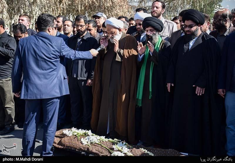 عکس تشییع جنازه خانواده مداحان بیوگرافی حاج سیدمجید بنی فاطمه