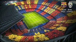 طرح موزاییکی بارسلونا