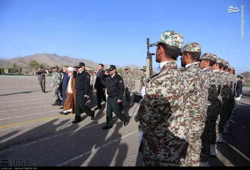 رژه روز ارتش در استان مرکزی