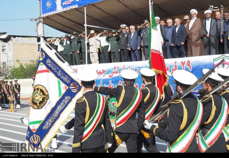 رژه روز ارتش در مازندران